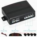 HOT OEM Parking Sensors Rear Electromagnetic LED Display 12V 4 System Radar  12