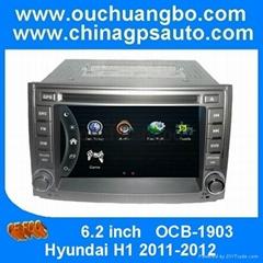 Ouchuangbo car audio radio GPS navi for Hyundai H1 2011-2012