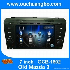 car DVD radio gps navi Multimedia Player for Mazda 3  2004-2009