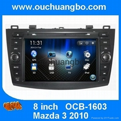 autoradio DVD GPS for Mazda 3 2010 with automotive GPS