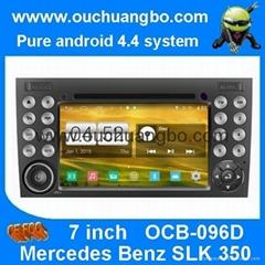 S160 Android 4.4 Mercedes Benz SLK 350 audio DVD gps radio