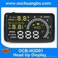 Auto Car HUD Head Up Display Speed