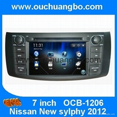 Car audio radio DVD navi for Nissan Sylphy/ B17 2012-2014