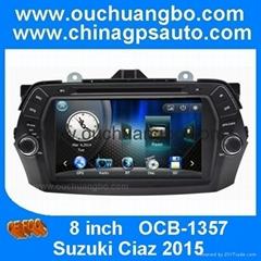 ouchuangbo stereo radio gps navi Suzuki Ciaz 2015