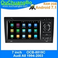 ouchuangbo autoradio GPS for Audi A8