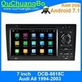 ouchuangbo autoradio GPS for Audi A8