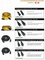 NEMA L5-30P,L5-20P,L5-15P Locking Power Supply Cord