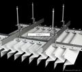 Aluminum Suspended False Ceiling