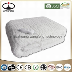 Synthetic Wool Warming Blanket with