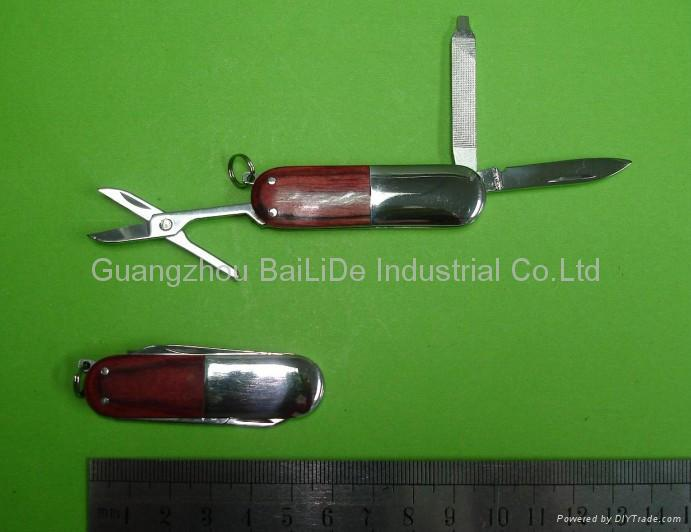BLD-GK030 Wood Handle Gift Knife