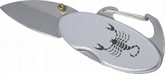 BLDGK-018S Mountain Clip With Blade (Promotion Gift)