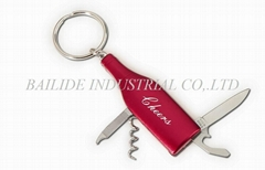 Bottle Tool Key Ring
