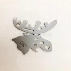 驯鹿造型实用户外生存瑞士口袋工具