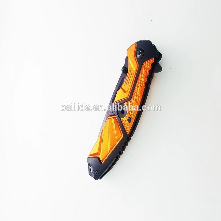 高品質戶外狩獵折疊刀 BLD-RD404 5