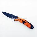 高品質戶外狩獵折疊刀 BLD-RD404 6