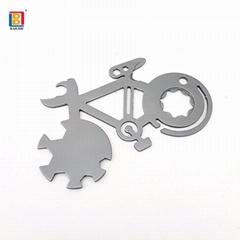 袖珍自行车修理工具卡