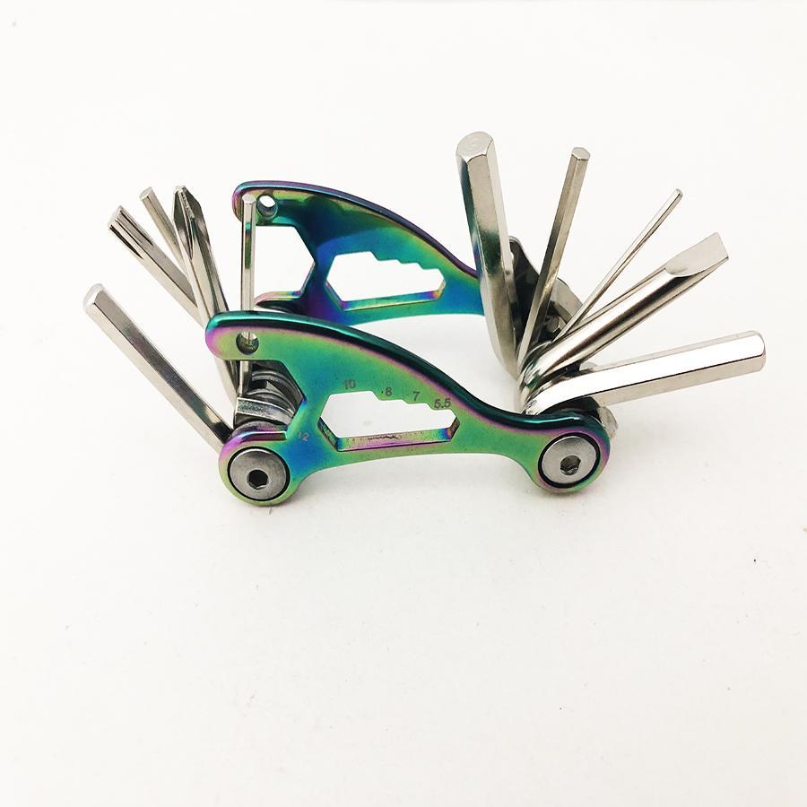 Titanium Multifunction Bicycle Tool 1