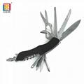 Multifunctional folding 11 in 1 swiss survival pocket knife
