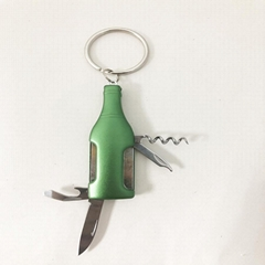 Wine Bottle Shape Pocket Multifunction knife