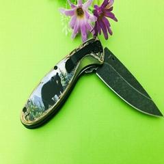 帶有塑料手柄的不鏽鋼單支刀
