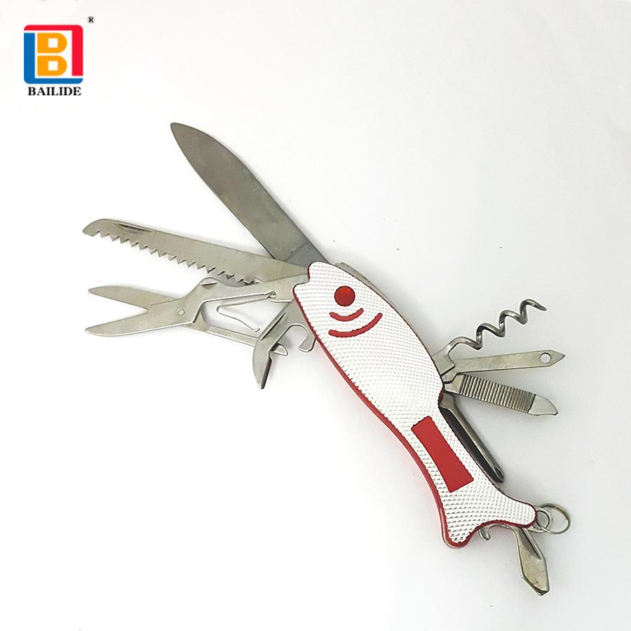 Fish shaped Multi Functional Knife