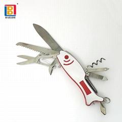 Fish shaped Multi Functional Knife