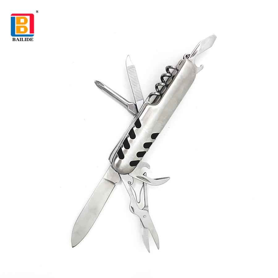 7 in 1 Stainless steel Multifunction knife