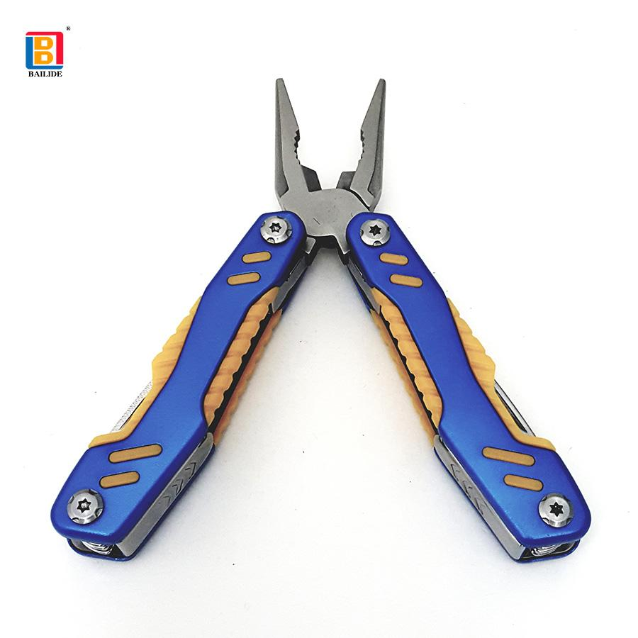 Multi tool pliers 13 function in 1 with folding knife 6