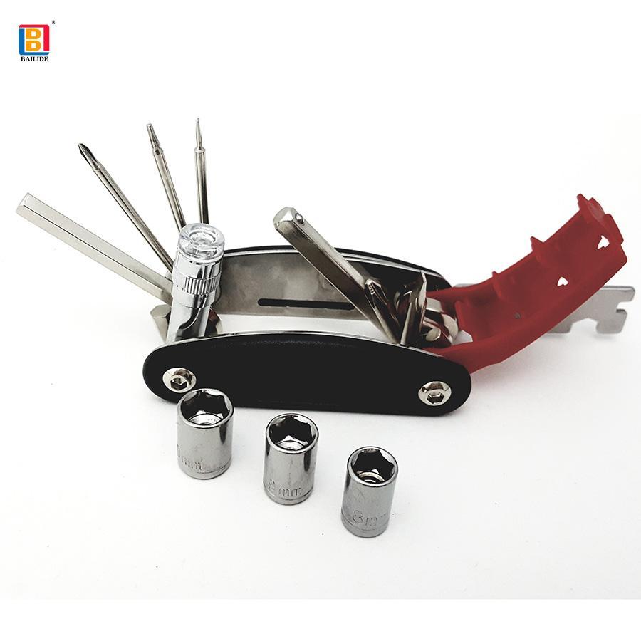 15 in 1 Multi-Function Bicycle Repair Tools