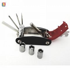 15合一多功能自行車修理工具