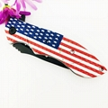 USA Flag handle Survival tool stainless steel folding knife 3