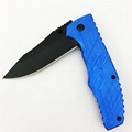 Folding camping hunting survival knife EDC tool