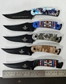 Stainless steel folding hunting  knife
