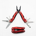 Stainless steel foldable pliers EDC tool with aluminum handle