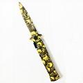 固定刀片刀不鏽鋼折疊口袋刀