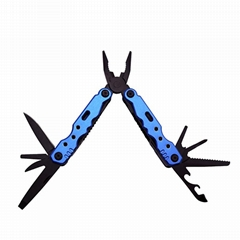 9 in 1 Stainless steel multifunction foldable pliers