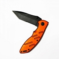 Outdoor Stainless Steel Foldable Hunting Knife