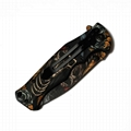 High quality Outdoor Camping Foldable Survival Knife 6