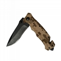 Stainless Steel Camping Survival Outdoor Foldable Pocket Knife