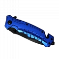 Outdoor Camping Survival Foldable Knife with Aluminum handle