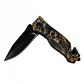 Outdoor Camping Folding Survival Hunting Safety Knife