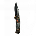 High Quality Stainless steel Folding Portable Hunting Knife