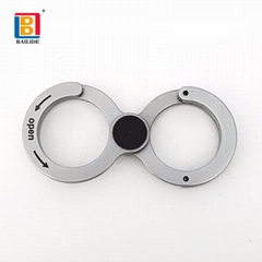 促销礼品金属钥匙扣户外便携实用工具