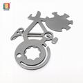 Promotional gift bicycle shape EDC metal