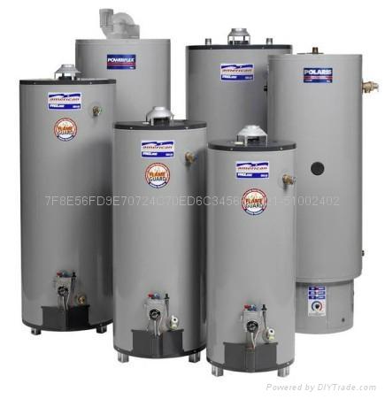 American美国鹰牌热水炉 100加仑 380升燃气中央热水器 2