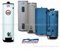 American美国鹰牌热水炉 100加仑 380升燃气中央热水器 4