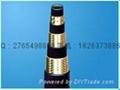 EN857钢丝编织橡胶液压油管