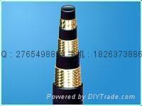 DIN,EN857 hydraulic rubber wire hoses