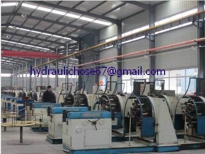 Rubber high pressure hydraulic oil hoses  2