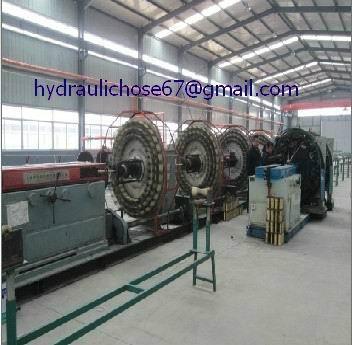Multi-braided hydraulic hoses 3